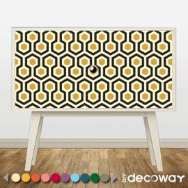 Sticker décoratif pour meuble style shining