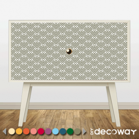 Sticker décoratif pour meuble style ecaille