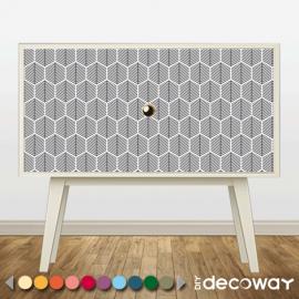 Sticker décoratif pour meuble style sapin