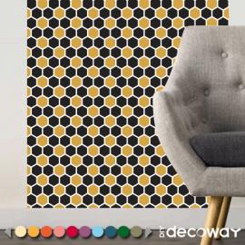Papier peint nid abeille