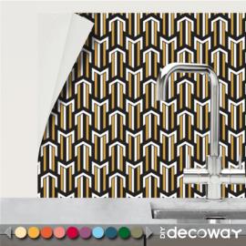 Revêtement adhésif pour la cuisine motif Art Deco MC