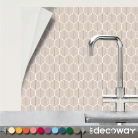 Vinyle autocollant pour cuisine et salle de bains motif scandnave sapin
