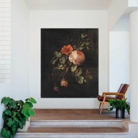 Papier peint panoramique Still Life Roses