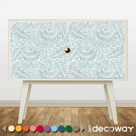 DIY Deco Sticker meuble motif feuillage