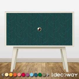 Adhésif meuble motif Art Deco