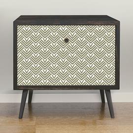 Un sticker décoratif pour tiroir ou porte de placard
