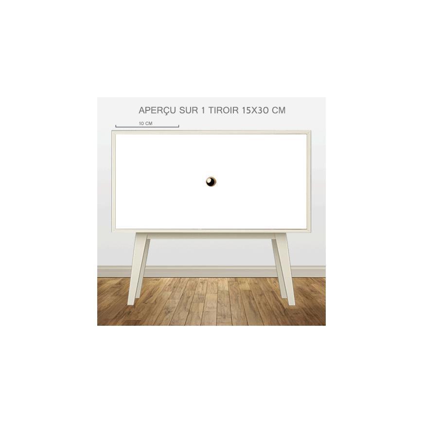 Sticker d coratif pour meuble style cercle - Stickers deco meuble ...